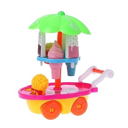 ZJL220 Regalo de los niños Carro de Helados Juego de carros Juego de niños Pretende Que