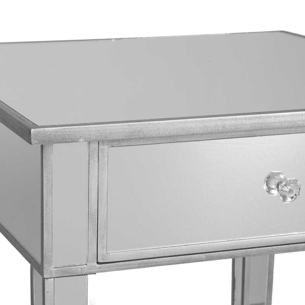 Mirrored Accent Table: SEI Mirage Mirrored Accent Table