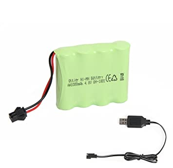 4 8v Chargeur 1000mah Rechargeableamp; Pour Voiture Batterie Rc Usb O8yN0vmnw
