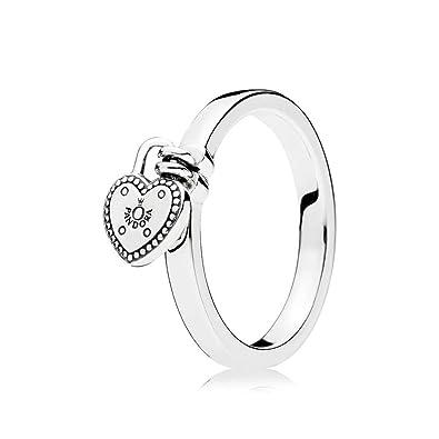 47fef61f2 Heart Shape Love Ring 925 Silver 196571: Pandora: Amazon.co.uk ...