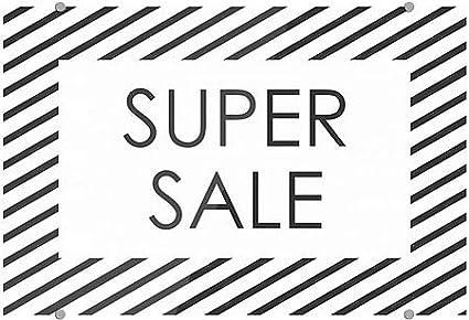 Super Sale 18x12 CGSignLab Stripes White Premium Brushed Aluminum Sign 5-Pack