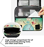 7c910d01c71d Amazon.com : Jacksome Mural Wash Bag Toiletry Organizer Toiletry Bag ...