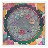 Groovi Parchment Embossing Template ~ Tina's 3D