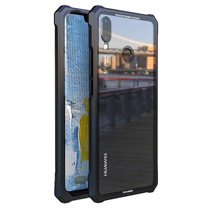 huge selection of fe765 31908 Amazon.com: HIKERCLUB Huawei Nova 3i Case Luxury Aluminum Metal ...