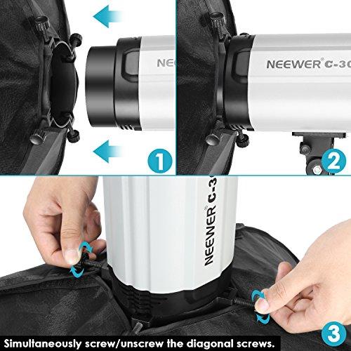 "Studio Lighting Reviews: Neewer 20x28""/50x70cm Rectangular Softbox Compatible With"