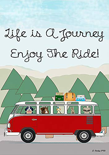 Life is a Journey Enjoy The Ride Decorative Garden for sale  Delivered anywhere in USA