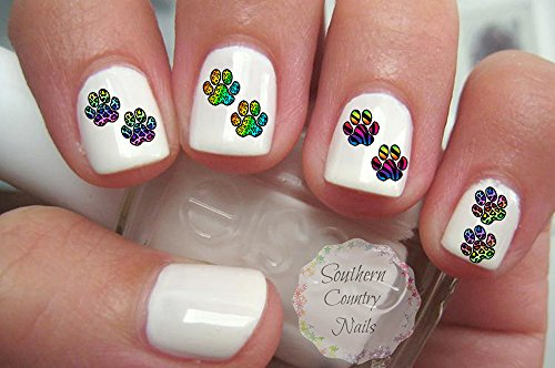 nail decals browning - 7