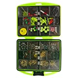 Value Sport Fishing Tackles Swivels Snap Jigs Beads Hooks Box Kit