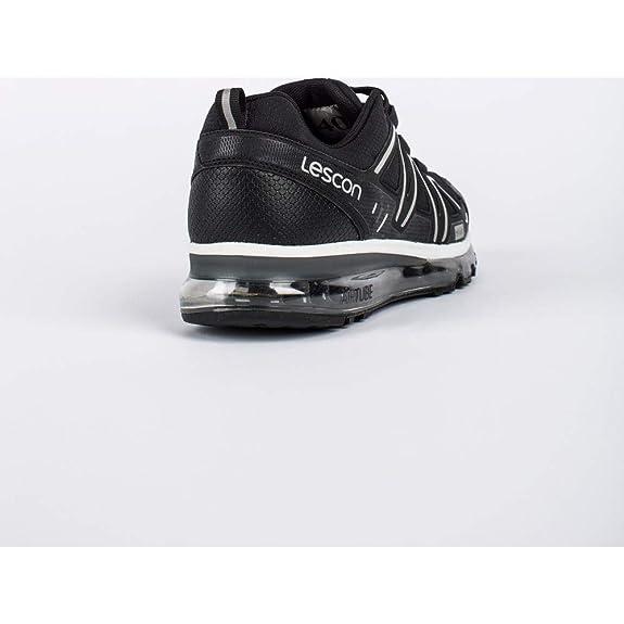 f8af347005479 Lescon L-5500 Siyah Airtube Günlük Erkek Spor Ayakkabı: Amazon.com.tr:  shoepi