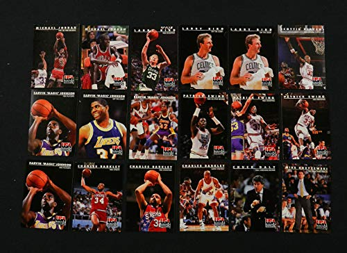 1992 Skybox Team USA Basketball COMPLETE SET (110 cards) Includes 10 DIFFERENT MICHAEL JORDAN ()