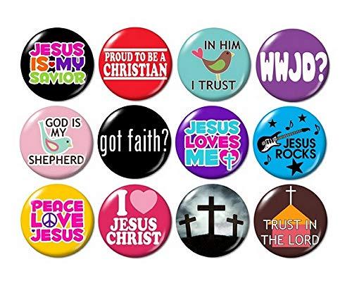 Christian Buttons Pins ()