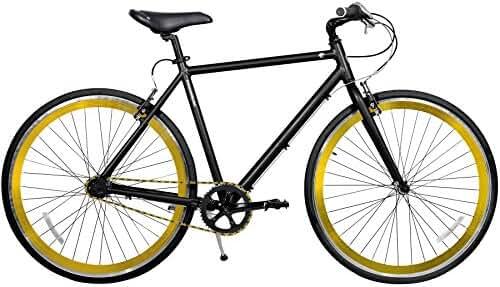 Gama Bikes Speed Cat 700c 3 Speed Internal Shimano Urban Commuter Road Bicycle