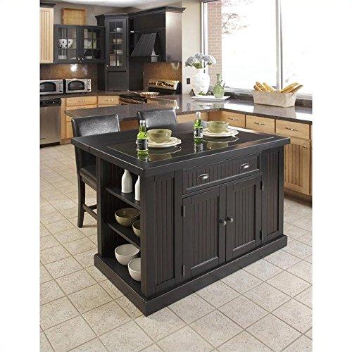 kitchen island black - 9