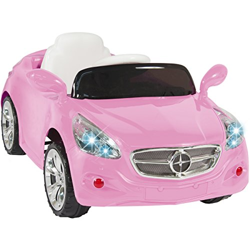 Best Choice Products Kids 12V Electric Power Wheels RC Car Ride On with Radio & MP3, Pink