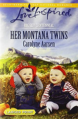 book cover of Her Montana Twins