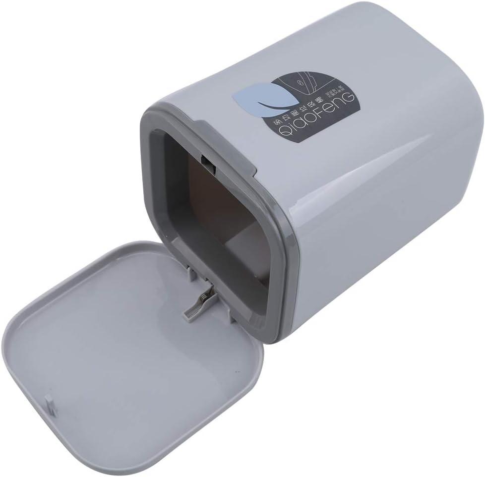 Bureaux /à Domicile LLZIYAN Poubelle /à p/édale en Plastique avec Protection du Couvercle Contre Les odeurs Cuisines Corbeille /à d/échets pour la Salle de Bain salles deau