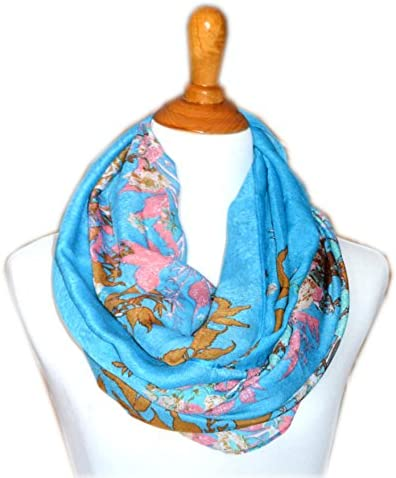 SCARF/_TRADINGINC/® Floral Light Weight X-large Infinity Scarf