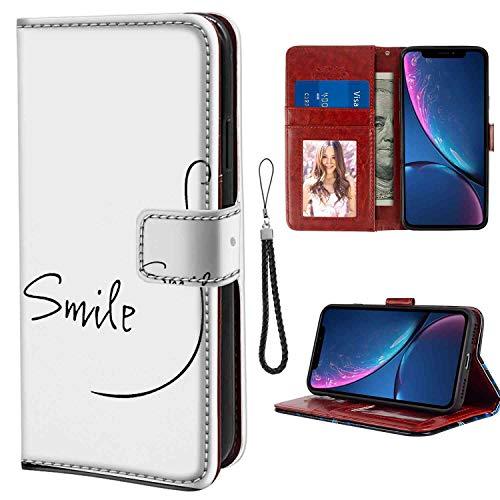 Stick Figure iPhone Xr Wallet Case (2018) (6.1-Inch) ()
