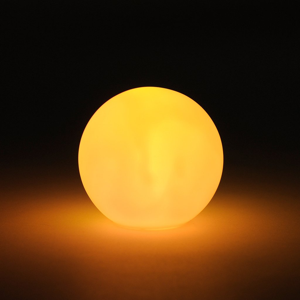 /Lampe Sph/ère boule lumineuse Boule Ambiance D/écoration de changement de couleur LED changement de couleur effet/ /Petite lampe LED avec piles/
