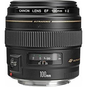 RetinaPix Canon EF 100mm f/2 USM Telephoto Lens for Canon SLR Cameras