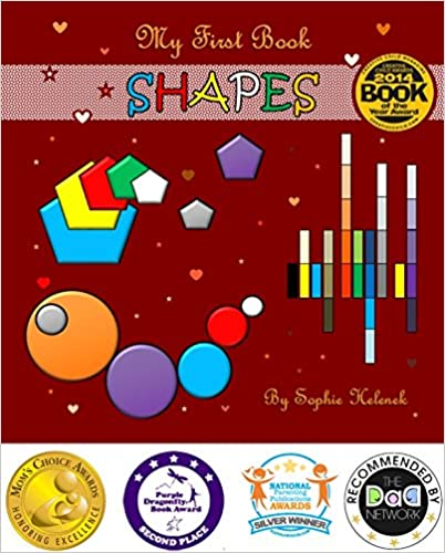 Download online My First Book SHAPES (GOLD Mom's Choice Awards Recipient) PDF, azw (Kindle), ePub