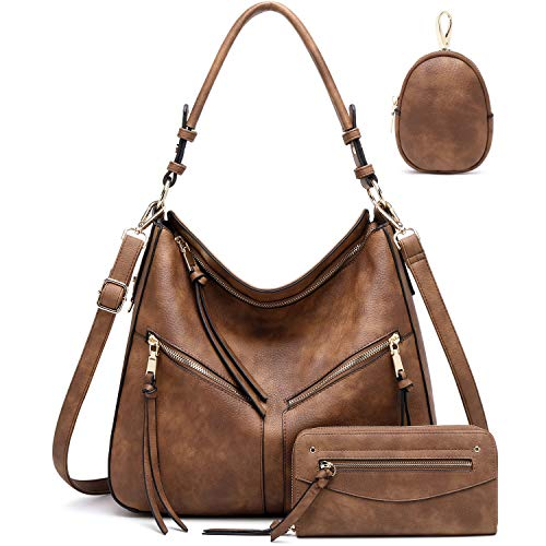 Hobo Bags for Women Handbags Purse Ladies Boho Shoulder Bag Crossbody Purses Vegan Leather