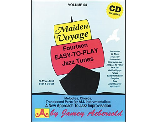 - Vol. 54, Maiden Voyage: Fourteen Easy-To-Play Jazz Tunes (Book & CD Set)
