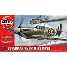 Hornby Airfix A02046A Supermarine Spitfire MkVb 1:72 Scale Military Aircraft Series 2 Model Kit
