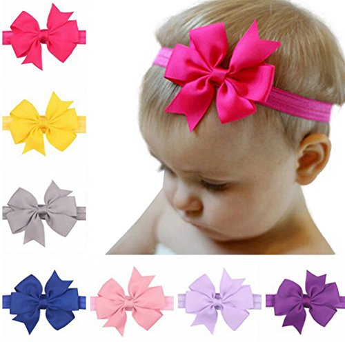 Baby Girl Cute Headband Head Wrap Hair Band (F-8) (Old West Outfit)