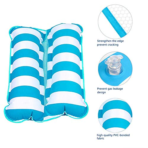 Water Hammock Float, Pool Mattress Floats for Adults, 4-in-1 Multi-Purpose Inflatable Hammock (Saddl - http://coolthings.us