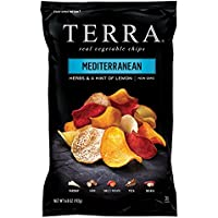 TERRA Vegetable Chips, Mediterranean Herbs and a Hint of Lemon, 6.8 Ounce