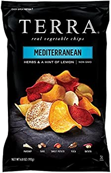 TERRA Vegetable Chips, Mediterranean Herbs , 6.8 Ounce