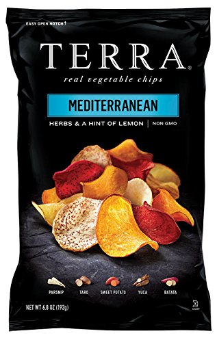 Chips Potato Blue (TERRA Vegetable Chips, Mediterranean Herbs and a Hint of Lemon, 6.8 Ounce)