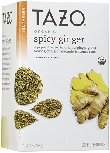 Tazo Tea Ginger Spicy Organic, 20 ct -