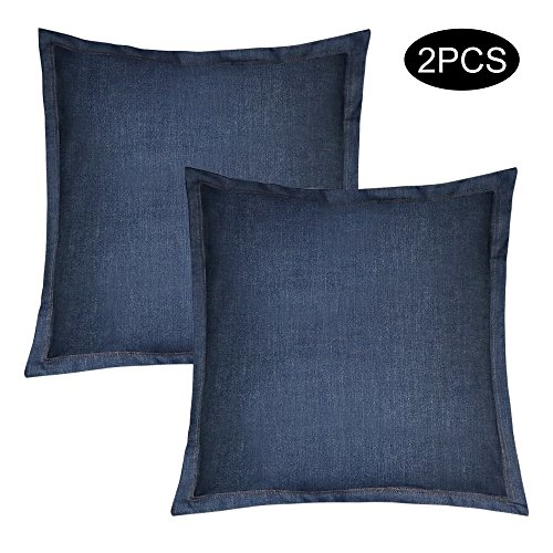 KATEVO Pillow Inserts with Pillow Protector, 17.7x17.7