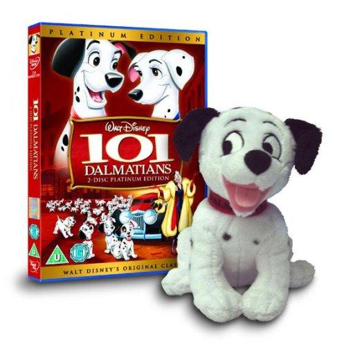 101 Dalmatians Platinum Edition Ltd Edition With Dalmatian Toy Dvd