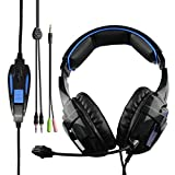 SADES BPOWER Multiplatform Stereo PC Gaming Headset with Microphone for Desktop,IPAD,Iphone3/4/5/6/6s plus/PC,PS4,Xboxone (Zeldathon Cures go4zelda)