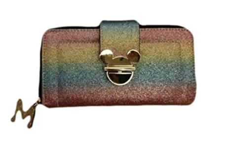 Disney Minnie Mickey Mouse Monedero para mujer - Arco iris ...