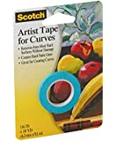 3M Scotch 1/8-Inch Artist Curves Tape