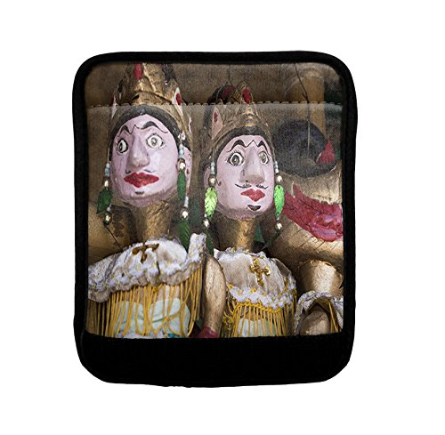 Wayang Golek Wood Puppet Luggage Handle Wrap Finder by Style in Print (Image #1)