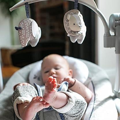Ingenuity, Townsend 2 in 1 Babyschaukel und -sitz, zusammenklappbar, mit Vibrationen, 5 Schaukelgeschwindigkeiten, mehr als 8 Melodien und Lautstärkeregler 4