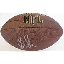 Sterling Sharpe, Green Bay Packers, South Carolina, Signed, Autographed, NFL Football, a COA with the Proof Photo of Sterling Signing Will Be Included with the Ball
