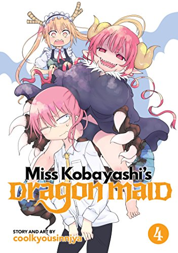 Miss Kobayashi's Dragon Maid Vol. 4 [Coolkyoushinja] (Tapa Blanda)