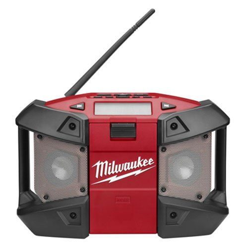 Milwaukee M12 Cordless Job-Site Radio 2590-20 (Tool Only) (Milwaukee Tools Car Charger)