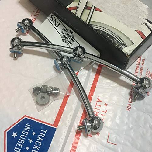 H-D Chrome Front Fender Rail Trim Kit for Harley FL 1949> Part#50-1084