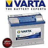 Varta D24 60 Ah Batterie de Voiture 560 408 054
