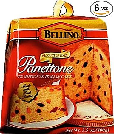Amazoncom Bellino Mini Panettone Traditional Italian Cakes 35