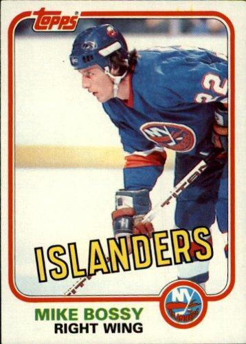 1981 Topps Hockey Card (1981-82) #4 Mike Bossy (Mike Bossy Memorabilia)