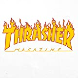 Thrasher Skateboard Magazine Flame T-Shirt