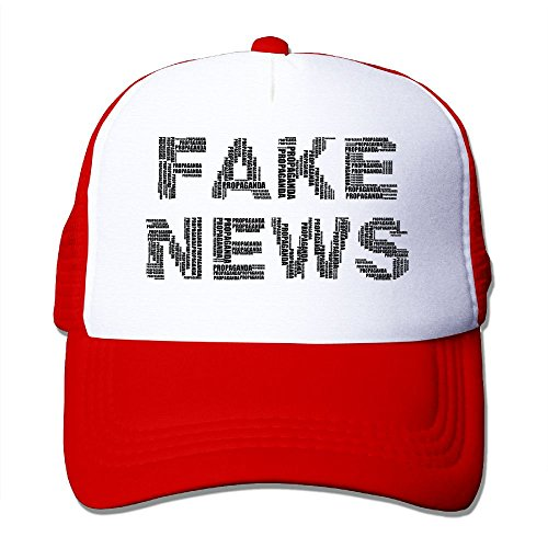 NONGFU Corruption, Deception, Euphemism, Fake News, Lies, Lies Big Foam Mesh Truck Cap Mesh Back Adjustable Cap